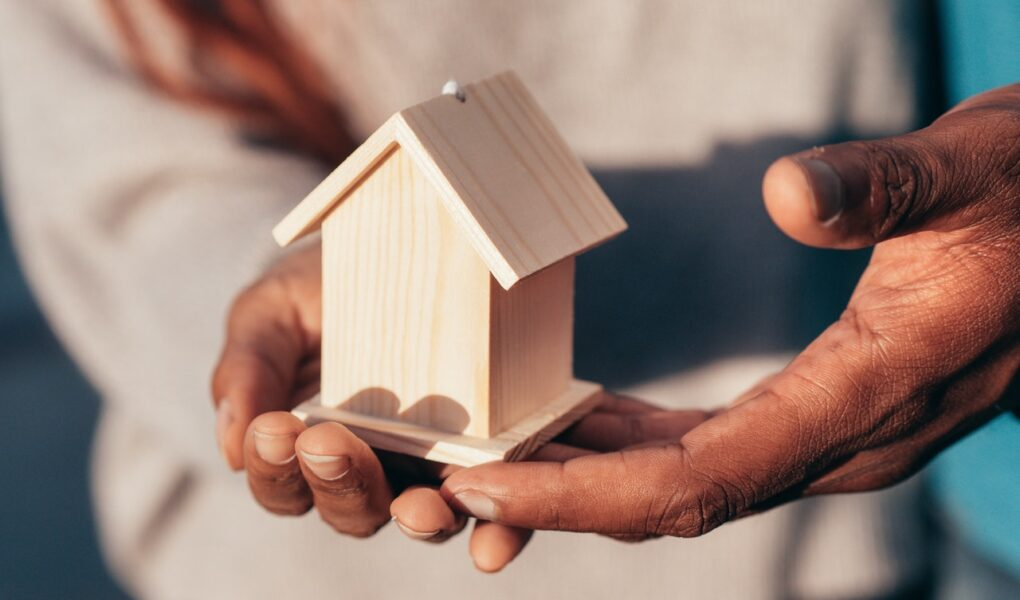 kleines Holzhaus